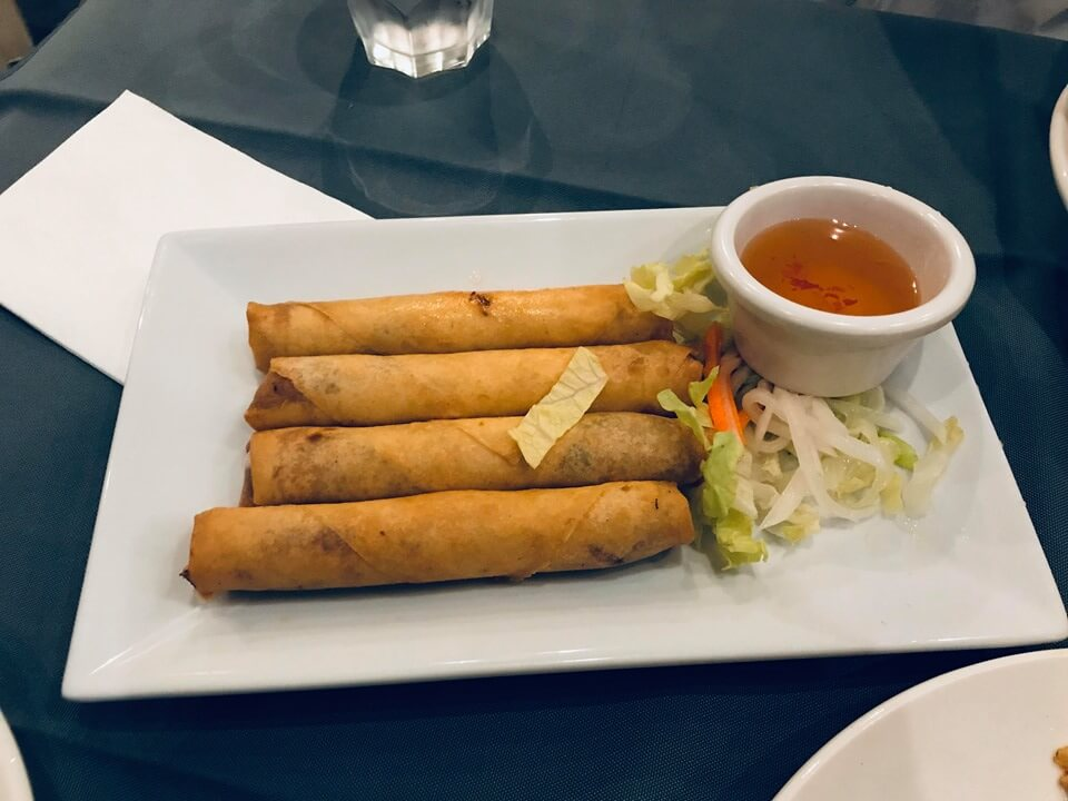 .Spring Roll (Pork & Vegetable